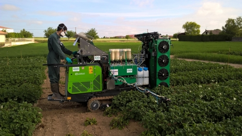 Equipment for field agronomic experimentation & agricultural