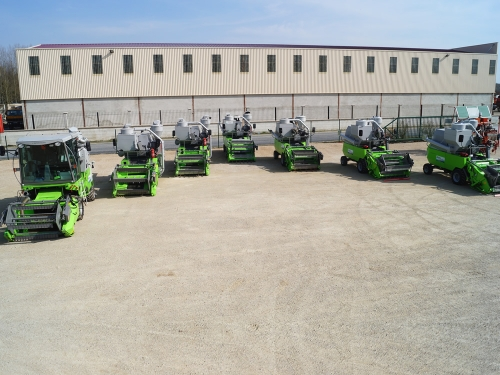 Our fleet of Winter Classic Combine Harvesters